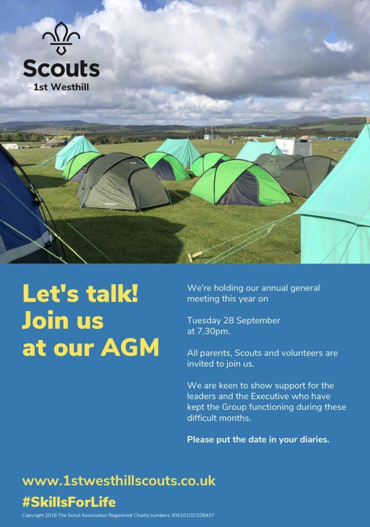 AGM 2021 poster