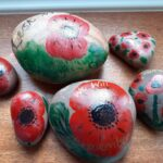 Image of painted pebbles